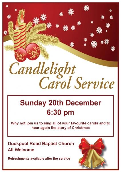 Candlelight Carol Service_poster 2015