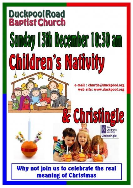 Children's Nativity & Christingle 2015