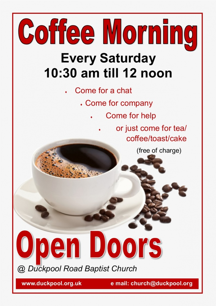 Open Doors Coffee Morning