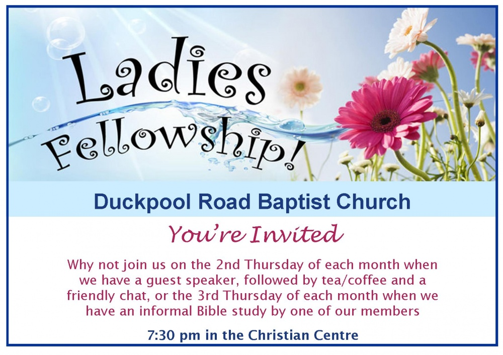 Ladies Fellowship Bible Study